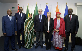 High Representative Mogherini meets Foreign Affairs Ministers from the Sahel region