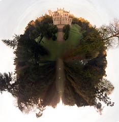Elvaston Castle Stereographic (jamesfletcher33) Tags: elvaston castle stereographic drone typhoon h derby derbyshire stately home