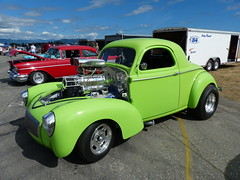 supercharged Willys (bballchico) Tags: willys supercharged gasser dragcar racecar carshow 1940s arlingtoncarshow 206 washingtonstate arlingtonwashington