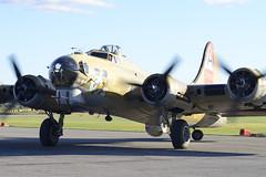 Nine O Nine (DJ Witty) Tags: plane b17 boeing flyingfortress warbird avaiation