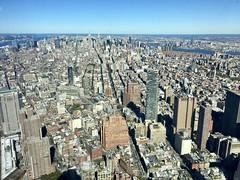 Manhattan from Freedom Tower (klimchuk) Tags: manhattan freedom tower skyscrapper