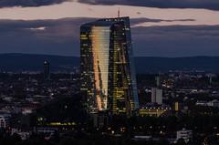 Frankfurt Skyline (don_quijote89) Tags: frankfurt frankfurtammain d5100 deutschland germany nikon europe herbst autum ezb sigma sigmalens hessen wol wolken bew bewölkt cloudy clouds