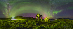 tye-sh2016c-pa-jcc-300816-qassiarsuq-092 (StarryEarth) Tags: aurora boreal borealis erik eric rojo red colonia colony iglesia church geomagnetic geomagntica sol sun viking vikingo greenland groenlandia qassiarsuk