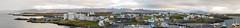 Panorama of Stykkishlmur (Photocedric) Tags: iceland ocean water snfellsnes peninsula islande panorama town sea snfellsnes stykkishlmur is