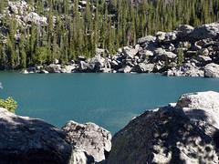 Lake Haiyaha (LauraBojanowski) Tags: lake haiyaha rmnp alpine lakes