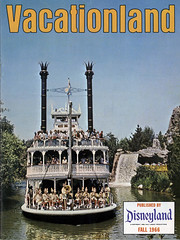 Vacationland Fall 1966 cover (Tom Simpson) Tags: disney disneyland vintage vintagedisney vintagedisneyland 1966 1960s vacationland marktwain riverboat marktwainriverboat paddleboat frontierland riversofamerica