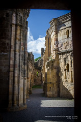 Alet-les-Bains, Languedoc-Roussillon (Digidiverdave) Tags: aletlesbains davidhenshaw france french languedocroussillon castle henshawphotographycom landscape medieval