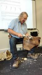 (Craig Rycroft 1) Tags: archaeology philharding cba flint knapping