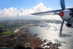 Flying the Trislander aircraft to Alderney / Channel Islands (anji) Tags: alderney channelislands englishchannel stanne bailiwickofguernsey