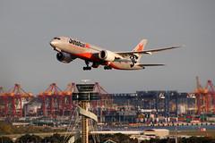 Boeing 787-8 Dreamliner Jetstar VH-VKJ (NTG's pictures) Tags: sydneykingsford smith international airport boeing 7878 dreamliner jetstar vhvkj rydges hotel rooftop viewing deck