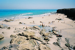 . (Alberto Polo Iaez) Tags: beach contax t3 analogue film 35mm vintage spain galicia