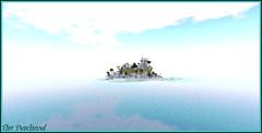 Etait ce un mirage ? (Tim Deschanel) Tags: tim deschanel sl secondlife timeless memories paysage landscape ile isle mer sea tranquilit zen cool dream rve