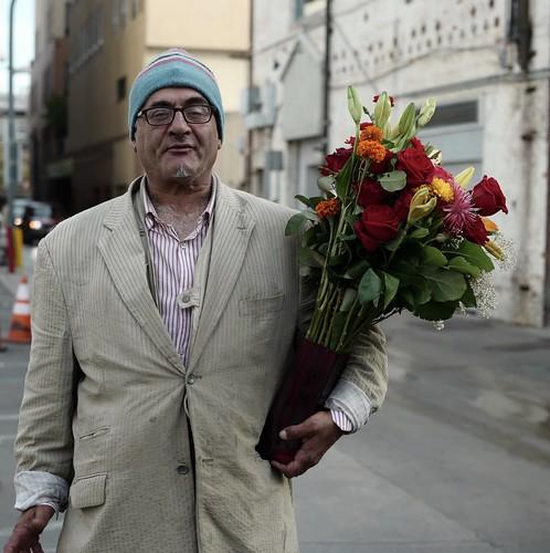 'The Self-Proclaimed Flower King'-Santa Monica 11/06/2016