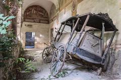 thisIsTheEnd (FoKus!) Tags: hearse monastery left decay urbex exploration dark eu ue europe abandonned abandonn abandon abbandonata verlassen verlaten italie italy italia