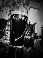 Pint of Guinness (ProfessorMVape) Tags: ale beer white black 7 iphone guinness alcohol