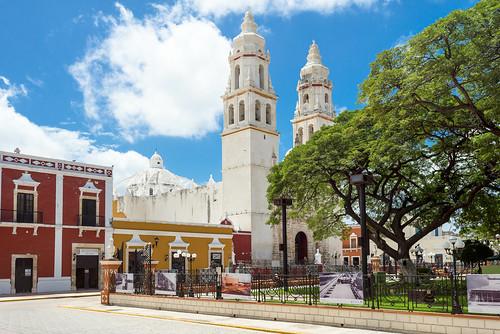 Catedral de la Purísima Concepción de Campeche - Mexico