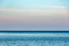 (klgfinn) Tags: autumn balticsea cloud landscape sea ship shore sky skyline water