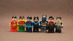 Dick Grayson (th_squirrel) Tags: lego batman dc dick grayson nightwing robin flying new 52 agent spyral minifig minifigs minifigures minifigure