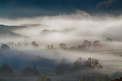 The Vale in the Mist (stejay2720) Tags: lakedistrict thelakes cumbria uk britain england northwestengland nationalpark nationaltrust castlerigg stjohnsinthevale landscape scenery nature countryside earlymorning sunrise mist atmospheric moody hills valley gorgeouslight autumn canon sigma leefilters ngc stephenjackson amateur srj