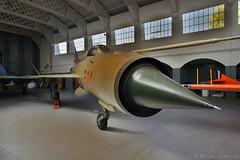 Mikoyan-Gurevich MiG-21 (Bri_J) Tags: iwmduxford cambridgeshire uk iwm duxford airmuseum museum aviationmuseum nikon d7200 imperialwarmuseum mikoyangurevich mig21 mig  21 jet fighter coldwar hungarianairforce