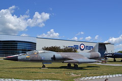 CF-104 Starfighter (jc nadeau) Tags: rcaf museum aircraft canada canadian air force trenton ontario airport cfb helicopter