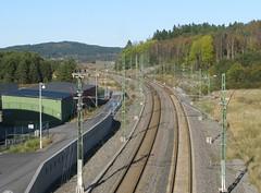 Järnvägen sedd från ny bro i Nol 2012 (biketommy999) Tags: 2012 ale nol biketommy biketommy999 sverige sweden västragötaland