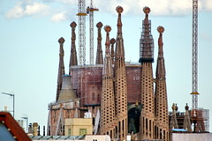 Sagrada Familia (Yuri Rapoport) Tags: sagradafamilia gaudi church torreagbar casafuster domenechimontaner 2013 barcelona catalonia spain