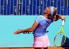 Azul (alfonsocarlospalencia) Tags: svetlana kuznetsova tenista rusa saquetn esfuerzo azul amarillo potencia energa rosa raqueta sudor escorzo ace fuerza concentracin ritual palanca celeste tensin head tatuaje arrugas cadena estilo