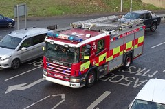 Bedfordshire Fire And Rescue Service (999 Response) Tags: bedfordshire fire and rescue service luton 74 kx55hww