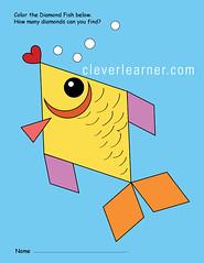 Preschool Diamond Shape Activity (Learn something new today) Tags: preschool shapes diamondshape worksheet childrenshapes teachshapes shapeactivity shapeworksheets