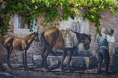 sardinian mural (robra shotography []O]) Tags: wall sardegna muro murales fonni barbagia wallwednesday sardinia sooc