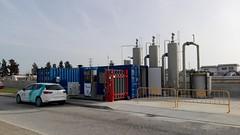 Estación biometano construuda por HAM