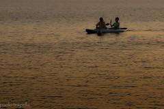 ti faccio una foto.. (paolotrapella) Tags: tramonto sunset barca boat mare sea acqua water