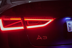 taillight (nzfisher) Tags: taillight light car detail sedan audi a3 50mm canon led