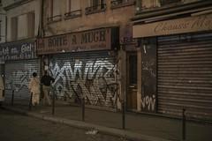. (Le Cercle Rouge) Tags: paris france ruedufaubourgdutemple belleville humans graffs graffitis tags handstyle painters stores 75010