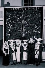 Sisterhood (Dov Rob) Tags: edinburgh scotland blackandwhite monotone monochrome aids sisters perpetual indulgence milestone house
