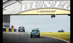 Jaguar XK 140 FHC (1955) & Aston Martin DB2/4 (1954) (Laurent DUCHENE) Tags: peterauto lemansclassic 2016 bugatti jaguar xk 140 fhc aston martin db24