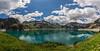 Luenersee 7 (Wolfgang Staudt) Tags: luenersee panorama vorarlberg oesterreich vandans stausee bergsee alpen brandnertal schesaplana schnee wolkig juni wolfgangstaudt hochgebirge gebirge berge douglasshuette totalphuette wandern wanderwege luenerseebahn seilbahn vorarlbergerillwerkeag staumauer stromerzeugung energiegewinnung luenerseewerke
