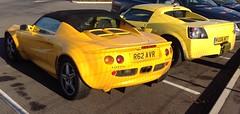 Lotus Elise (1998) & Vauxhall VX220 (2006) (andreboeni) Tags: car automobile cars automobiles voitures autos automobili voiture auto vauxhall vx220 sports lotus elise opelspeedster