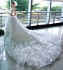 كوني عروس كالملكات مع فساتين زفاف بذيل طويل (Arab.Lady) Tags: كوني عروس كالملكات مع فساتين زفاف بذيل طويل