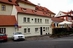 House where Tycho Brae lived in 1600, Prague (Carneddau) Tags: 1600 czechrepublic czechia hradany no novsvt prague praguecastle praha tychobrahe