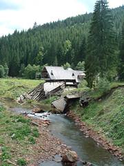 Tutajmúzeum árvíz után (ossian71) Tags: ukrajna ukraine kárpátalja kárpátok carpathians épület building faház wooden múzeum museum