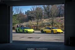 Lamborghini Aventador LP750-4 SV Roadster + Lamborghini Murcilago LP670-4 SV (Lukas Hron Photography) Tags: open day den otevench dve olympia wellness venory lamborghini sv aventador murcilago porsch gt3 rs 991 mercedesbenz sl black series ferrari 599 gto supercars luxury amg superveloce