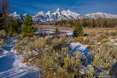 Call of Winter (James Neeley) Tags: tetons grandtetonnationalpark gtnp schwabacherslanding landscape jamesneeley