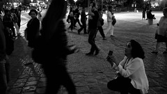 Paris 2016 (Zoe Sommerfeld) Tags: proposal europe paris france city travel explore notredame church cathedrale blackandwhite streetphotography street stangers people