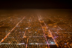 Built on sand (dlorenz69) Tags: over flying overflight aerial view desert sand arabic arabia saudi riad riyadh capital city straight lines linien lights night nacht lichter flug wste stadt rectangular rechtwinklig strassen cityscape grid