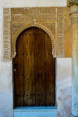 Palacio Nazaries door (Samir Rorless) Tags: sony pentax smc takumar 28mm f35 andalusia alhambra a6000 granada