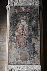 Nostra Senyora dels Socors, Claustre de la Seu Vella de Lleida (esta_ahi) Tags: lleida claustre claustro cloister seuvella ri510000156 catedral gtic gtico segri lrida spain espaa  pintura fresco ntrasradelossocorros