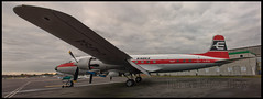 Untitled_Panorama1 (saltley1212) Tags: eagle airways douglas dc6 gapsa coventry