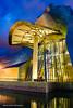 El Guggenheim nattetid